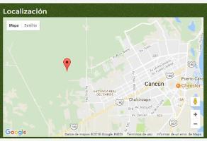 Foto de terreno habitacional en venta en supermanzana 262 262, francisco villa, benito juárez, quintana roo, 8637972 No. 01