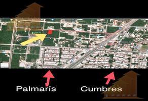 Foto de terreno habitacional en venta en  , supermanzana 316, benito juárez, quintana roo, 19180478 No. 01
