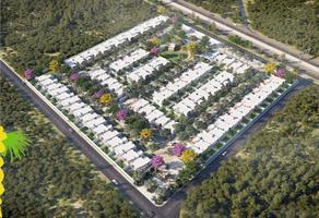 Foto de casa en condominio en venta en tablaje 20817 , cholul, mérida, yucatán, 16256947 No. 01