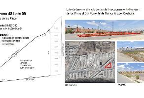 Foto de terreno habitacional en venta en taeda 100 , parajes de los pinos, ramos arizpe, coahuila de zaragoza, 0 No. 01