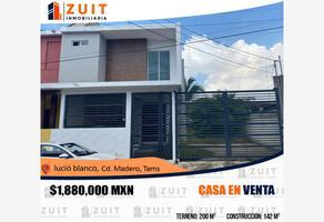 Foto de casa en venta en tajín 335, 16 de septiembre (ampliación), ciudad madero, tamaulipas, 16557515 No. 01