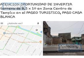 Foto de terreno habitacional en venta en  , tampico, tampico, tamaulipas, 11804114 No. 01