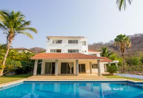 Foto de casa en venta en tangolunda, huatulco , punta tangolunda, santa maría huatulco, oaxaca, 0 No. 01