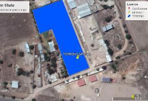 Foto de terreno habitacional en venta en tanque del refugio , los olivos, jesús maría, aguascalientes, 5766533 No. 01