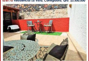 Foto de casa en venta en teresa santoyo 6, los olvera, corregidora, querétaro, 6874265 No. 01