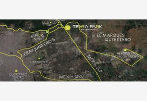 Foto de terreno industrial en venta en terra park centenario ., desarrollo habitacional zibata, el marqués, querétaro, 0 No. 01