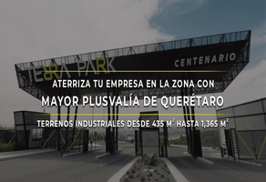 Foto de terreno industrial en venta en terra park centenario , fray junípero serra, querétaro, querétaro, 20042694 No. 01