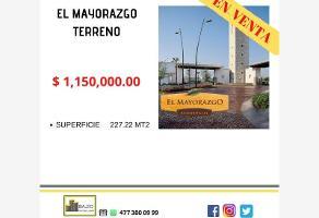 Foto de terreno habitacional en venta en terreno en venta ., el mayorazgo, león, guanajuato, 17594684 No. 01