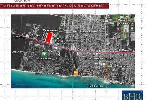 Foto de terreno habitacional en venta en terreno en venta uso de suelo mixto en playa del carmen, riviera maya, qr , playa del carmen centro, solidaridad, quintana roo, 0 No. 01