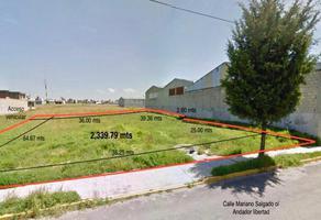 Foto de terreno habitacional en venta en terreno industrial en atzcapotzaltongo toluca , santa cruz atzcapotzaltongo centro, toluca, méxico, 0 No. 01