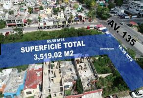 Foto de terreno habitacional en venta en terreno para desarrollos avenida 135 y avenida politécnico 1 , supermanzana 318, benito juárez, quintana roo, 0 No. 01