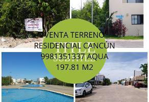 Foto de terreno habitacional en venta en terreno plano en venta rid4549 , cancún centro, benito juárez, quintana roo, 0 No. 01