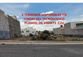 Foto de terreno comercial en venta en terreno plano vega, del sol, san luis potosí, san luis potosí, 21008058 No. 01