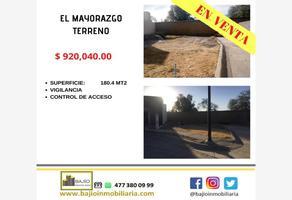 Foto de terreno habitacional en venta en terreno residencial en venta, el mayorazgo, león, guanajuato, 19403700 No. 01