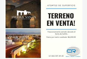 Foto de terreno habitacional en venta en tierra santa residencial a, tierra y libertad, saltillo, coahuila de zaragoza, 15386822 No. 01