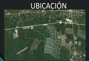 Foto de terreno habitacional en venta en  , tixkuncheil, baca, yucatán, 14105523 No. 01
