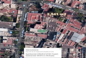 Foto de terreno habitacional en venta en tiziano , mixcoac, benito juárez, df / cdmx, 14411603 No. 01