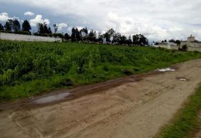 Foto de terreno habitacional en venta en toluca-queretaro , calixtlahuaca, toluca, méxico, 16126805 No. 01
