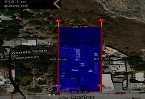 Foto de terreno comercial en venta en  , topo chico, monterrey, nuevo león, 17749084 No. 01