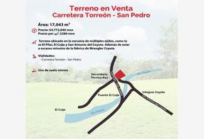 Foto de terreno habitacional en venta en  , torreón jardín, torreón, coahuila de zaragoza, 16434783 No. 01