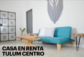 Foto de departamento en renta en  , tulum centro, tulum, quintana roo, 15126373 No. 01