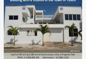 Foto de edificio en venta en tulum perpendicular , tulum centro, tulum, quintana roo, 0 No. 01