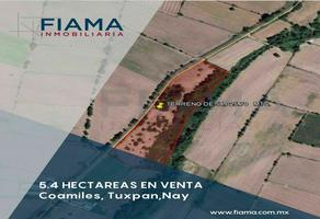 Foto de terreno habitacional en venta en  , tuxpan centro, tuxpan, nayarit, 17939957 No. 01