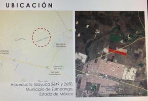 Foto de terreno habitacional en venta en  , fraccionamiento villas de zumpango, zumpango, méxico, 19607017 No. 01