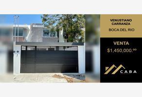 Foto de casa en venta en universal 32, venustiano carranza, boca del río, veracruz de ignacio de la llave, 0 No. 01