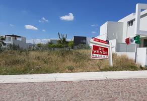 Foto de terreno habitacional en venta en urales , loma juriquilla, querétaro, querétaro, 14366217 No. 01