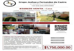 Foto de casa en venta en  , urbi quinta montecarlo, cuautitlán izcalli, méxico, 20843565 No. 01