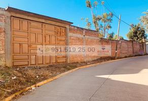 Foto de terreno habitacional en venta en valerio trujano , emiliano zapata, san jacinto amilpas, oaxaca, 18149397 No. 01