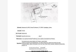 Foto de terreno habitacional en venta en valparaíso 2495, providencia 2a secc, guadalajara, jalisco, 0 No. 01