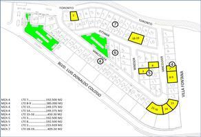 Foto de terreno habitacional en venta en vancouber , villas de san sebastián, saltillo, coahuila de zaragoza, 6804332 No. 01