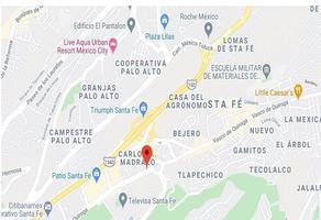 Foto de terreno habitacional en venta en vasco de quiroga , santa fe, álvaro obregón, df / cdmx, 17971273 No. 01