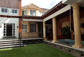 Foto de casa en venta en venta de casa estilo mexicano con alberca y sala de cine , la calera, puebla, puebla, 13095993 No. 01