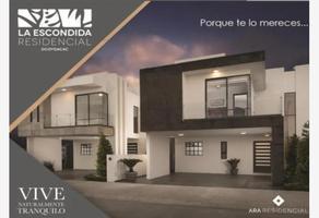 """Foto de casa en venta en venta de casa nueva modelo townhouse """"a"""" en la escondida ocoyoacac 1, centro ocoyoacac, ocoyoacac, méxico, 0 No. 01"""