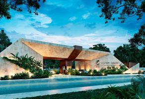 Foto de terreno habitacional en venta en venta de lotes en residencial campo magno desde 420m2 muy cerca del yucatán country club a 10 minuto , yucatan, mérida, yucatán, 20136414 No. 01