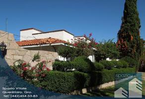 Foto de casa en venta en  , vergel del acueducto, tequisquiapan, querétaro, 13987117 No. 01