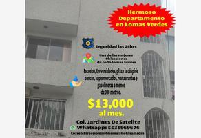 Foto de departamento en renta en via lactea 8, jardines de satélite, naucalpan de juárez, méxico, 0 No. 01