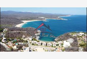 Foto de terreno habitacional en venta en vialidad 1 7, bahía de conejo, santa maría huatulco, oaxaca, 0 No. 01