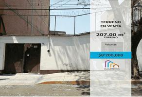 Foto de terreno habitacional en venta en vicente beristain , ampliación asturias, cuauhtémoc, df / cdmx, 0 No. 01