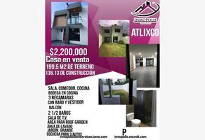 Foto de casa en venta en vicente guerrero 604, valle sur, atlixco, puebla, 0 No. 01