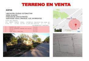 Foto de terreno habitacional en venta en  , victoria, victoria, tamaulipas, 12564255 No. 01