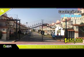 Foto de casa en venta en  , villa del real, tecámac, méxico, 18665314 No. 01