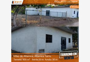 Foto de terreno habitacional en venta en villa isabel 293, villas de altamira, altamira, tamaulipas, 16456289 No. 01