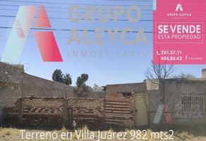 Foto de terreno habitacional en venta en  , villa juárez (rancheria juárez), chihuahua, chihuahua, 0 No. 01