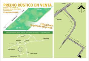 Foto de terreno habitacional en venta en  , villahermosa centro, centro, tabasco, 12632743 No. 01