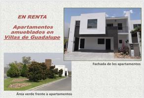 Foto de departamento en renta en  , villas de guadalupe, saltillo, coahuila de zaragoza, 0 No. 01
