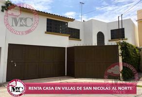Foto de casa en renta en  , villas de san nicolás, aguascalientes, aguascalientes, 0 No. 01